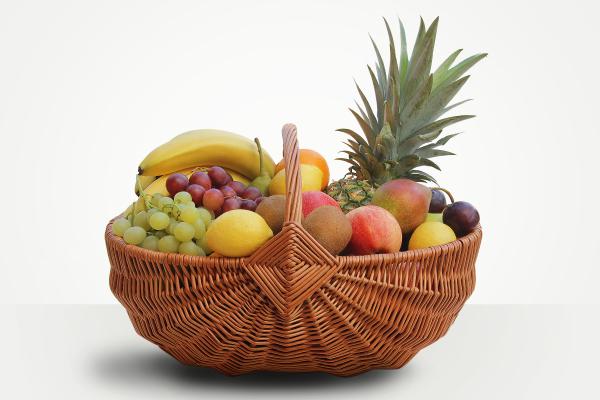 Kôš s ovocím