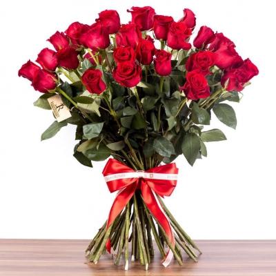 lusy roses bukréta - 50 ruží
